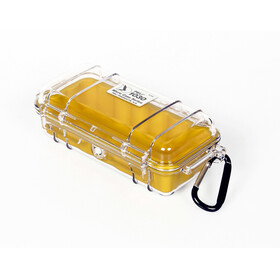 Peli MicroCase 1010 Box, clear/yellow